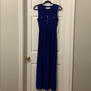 Sleeveless Royal Blue Maxi Dress NTW